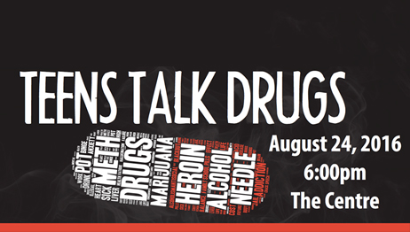 Teens Talk Drugs – August 24, 2016